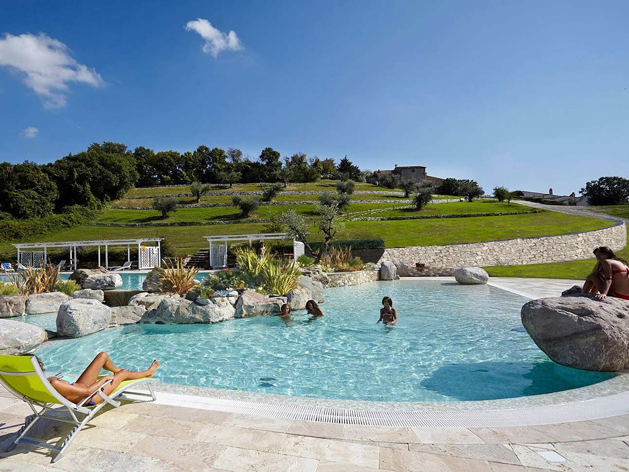 Trasparenti sogni che si avverano le piscine di for Piscina firenze